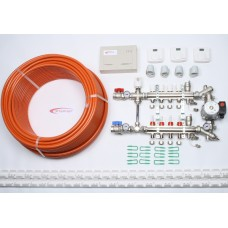 4 Port x 400M + Single Setting Electrical Controls + Mixer System