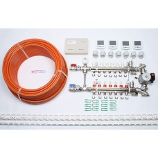 7 Port x 500M + Programmable Thermostatic Electrical Controls + Mixer System