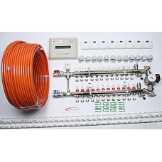 12 Port x 1100M + Single Setting Electrical Controls + Mixer System