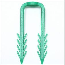 63mm Premier Fastrack Green Staple Clips