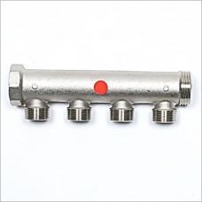 "4 Port G 1"" X  (M24X19) manifold."